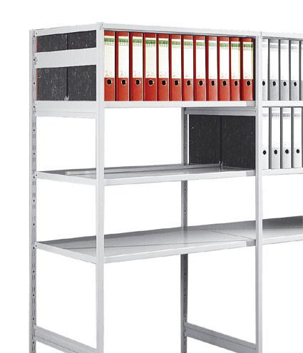 Seitensteg für Büro-Steckregal Flex