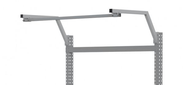 MULTIPLAN Ausleger gekröpft, extra für Stahl-Aufbauportale