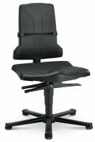 Leitfähiger Arbeitsstuhl EPA-Line Permanentkontakt mit Sitzneigung / Gleiter