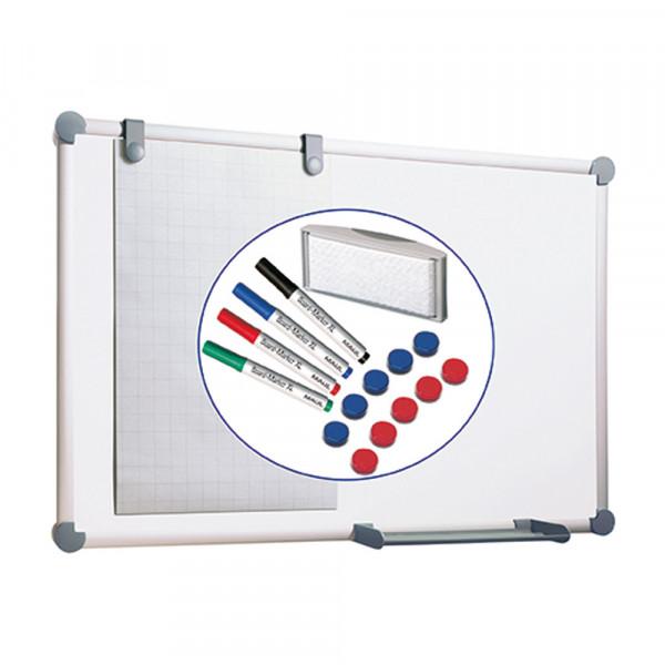 Whiteboard-Komplett-Set