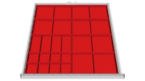 Schubfachbehälter für Kastenwerkbank COMPACT