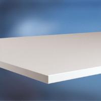 Arbeitstischplatte Melamin lichtgrau 22 mm 1000 / 600