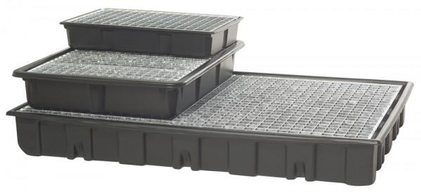 Kunststoff-Auffangwannen für Kleingebinde, aus Polyethylen