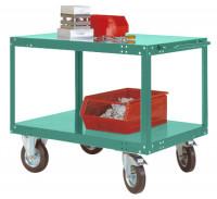 Leichter Tischwagen TRANSOMOBIL Graugrün HF 0001 / 1000 x 500