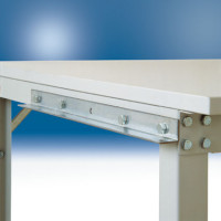Anschlussadapter für Kleinrollenbahn, für Bahnbreite 440 mm