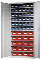 Ordnungsschrank, HxBxT: 1950 x 950 x 400 mm 10 Fachböden, 36xGr.4, 20xGr.5