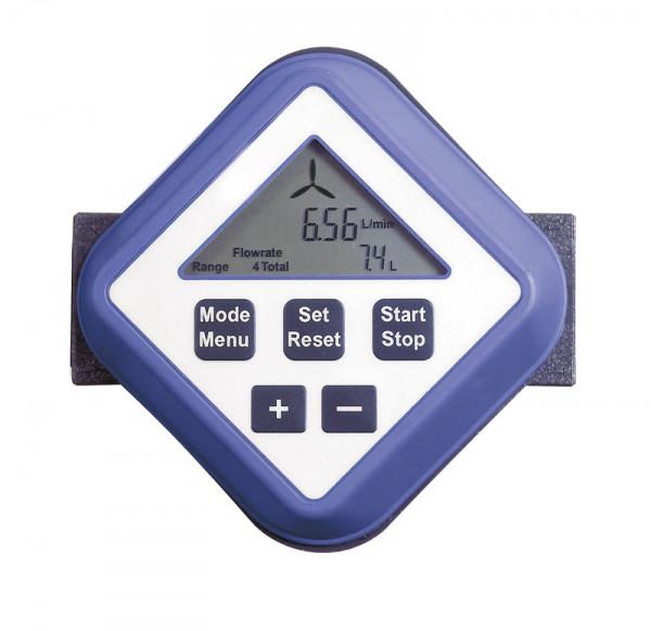 Elektronischer Durchflusszähler für Elektropumpen