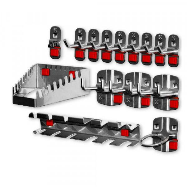RasterPlan/ABAX Werkzeughalter-Sortiment, 15-teilig