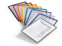 Klarsichttafeln für DIN A4 Grau