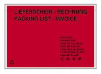 Selbstklebende Begleitpapiertaschen Format DIN C5 Lieferschein Rechnung