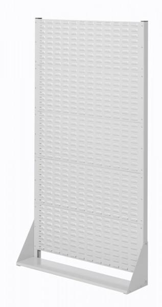 Stellwand mit Sichtlagerkästen, Einseitige Nutzung, Höhe 1790 mm