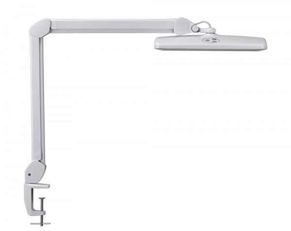 Dimmbare LED-Tischleuchte mit Klemmfuß