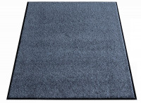 Waschbare Schmutzfangmatte Grau / 1500 x 900