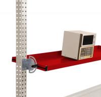 Neigbare Ablagekonsole für Werkbank PROFI Rubinrot RAL 3003 / 2000 / 195