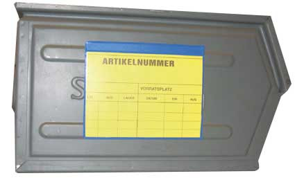 Kennzeichnungstaschen magnetisch