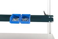 Boxenträgerschiene 40 kg Tragkraft Anthrazit RAL 7016 / 1600