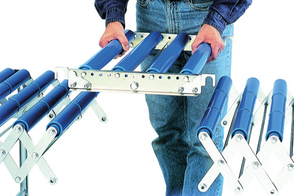 Verbindungsstück für Scheren-Rollenbahnen, Kunststoff