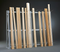 Vertikal-Grundregal 2500 / Einseitig
