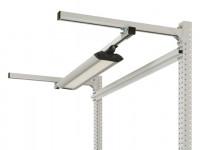 Langfeldleuchten (dimmbar) mit Kegelprismenblende 1256 / 39 W LED