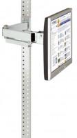 Monitorträger leitfähig 75 / Lichtgrau RAL 7035