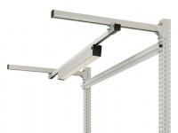 Langfeldleuchten mit Mikroprismenscheibe 585 / 20 W LED