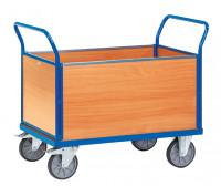 Vierwandkastenwagen Holz / 1000 x 700