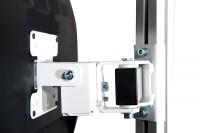 Monitor-Halter für Aufbausäule E-LINE, VESA 75/100 mm Anthrazit RAL 7016