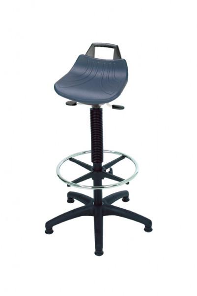 Stehhilfe mit großer Sitzfläche