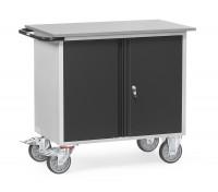 Werkstattwagen Grey Edition ohne Abrollrand / 1 zweitürigem Schrank