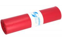 Abfallsäcke, LDPE mit 120 Liter Volumen 60 / Rot