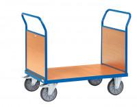 Doppel-Stirnwandwagen Holz / 1000 x 700