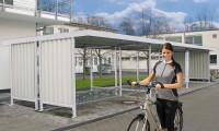 Seitenwand Trapezblech für vielseitiges Überdachungssystem
