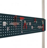 Werkzeug-Lochplatte für Werkbank PROFI Anthrazit RAL 7016 / 2000