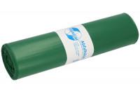 Abfallsäcke, LDPE mit 120 Liter Volumen Grün / 60
