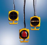 Energie-Block-Verteiler 230 V/50 Hz // 2 Druckluftkupplungen