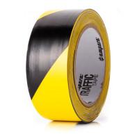 Bodenmarkierungsband Extra 50 / Gelb/Schwarz