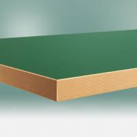 Werkbankplatte Linoleum grün 40 mm 1000 / 600