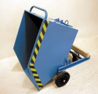 Kippwagen mit Rädern Feuerrot RAL 3000 / 0,25