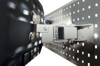 Monitor-Halter für Werkzeug-Halterplatte, VESA 75/100 mm Lichtgrau RAL 7035