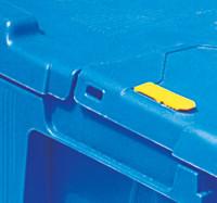 Einwegplomben für Euro-Mehrwegbehälter Länge 400/600 mm
