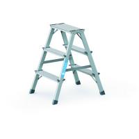 Stufen-Stehleitern, die Preiswerten 2x3 / 0,71