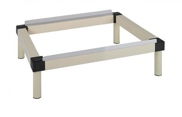 Unterbau für Kunststoff-Schließfächer