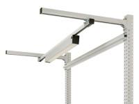 Langfeldleuchten mit Mikroprismenscheibe 30 W LED / 870