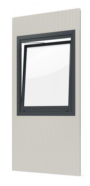 Einzelpaneel mit Dreh-Kippfenster