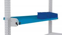 Neigbare Ablagekonsole für MULTIPLAN Arbeitstische 2000 / 345 / Lichtblau RAL 5012