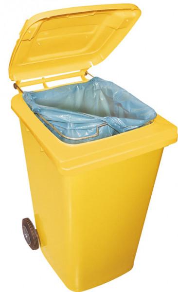 Müllsack-Klemmring für Mülltonnen