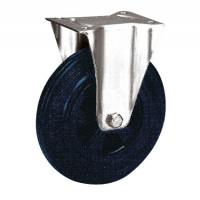 Bockrolle auf Vollgummi-Bereifung 160 / Kunststoff