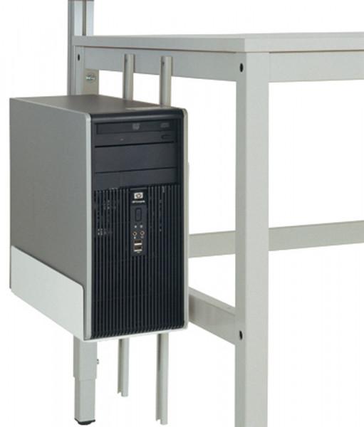 CPU-Halter für alle Arbeitstische, Packtische und Werkbänke