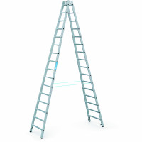 Sprossen-Stehleitern 2x16 / 4,58