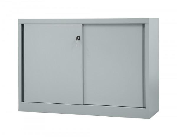 Büro-Schiebetürenschrank mit Fachboden, B x T 1200 x 430 mm